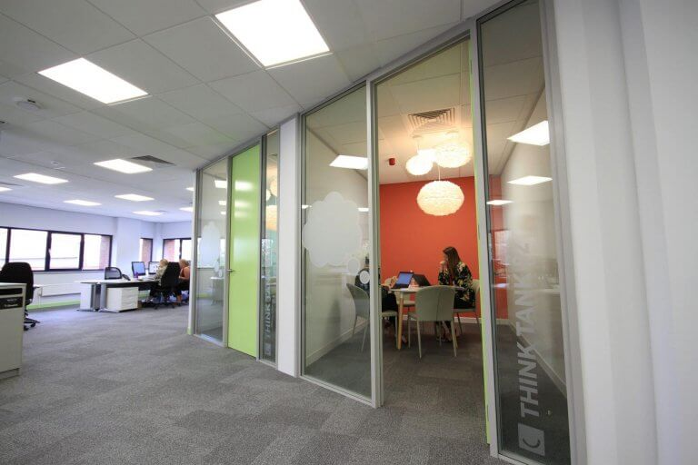 Smiffys working area and meeting rooms