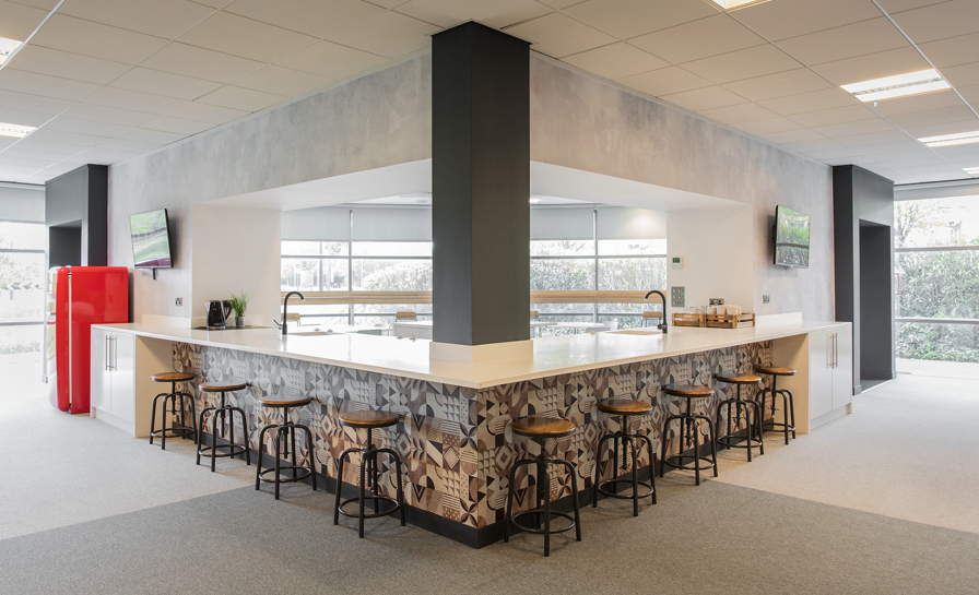 Office concepts design by Ben Johnson Interiors at LeoVegas UK